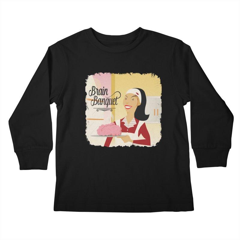 Dinner time! Kids Longsleeve T-Shirt by edulobo's Artist Shop