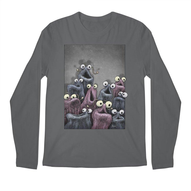 Yip-Yip Men's Regular Longsleeve T-Shirt by eenkist's Artist Shop