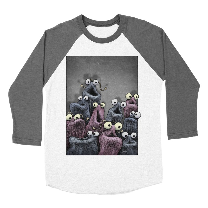 Yip-Yip Women's Baseball Triblend Longsleeve T-Shirt by eenkist's Artist Shop