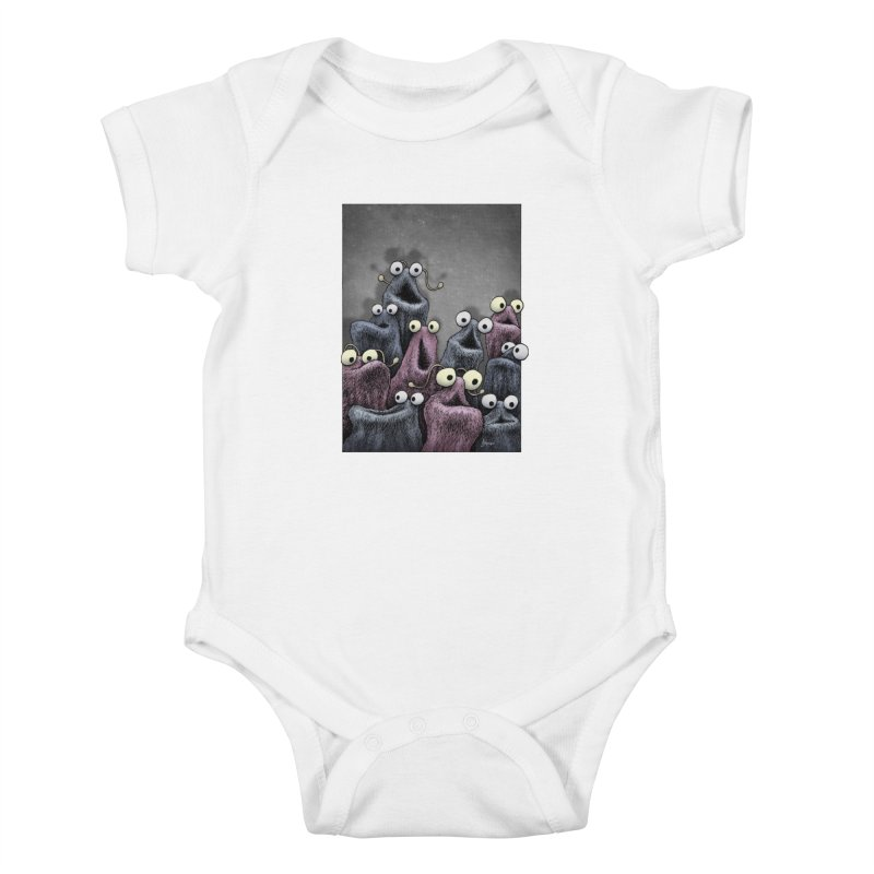 Yip-Yip Kids Baby Bodysuit by eenkist's Artist Shop
