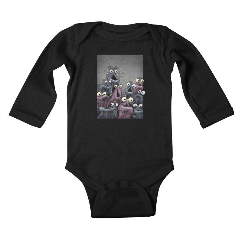 Yip-Yip Kids Baby Longsleeve Bodysuit by eenkist's Artist Shop