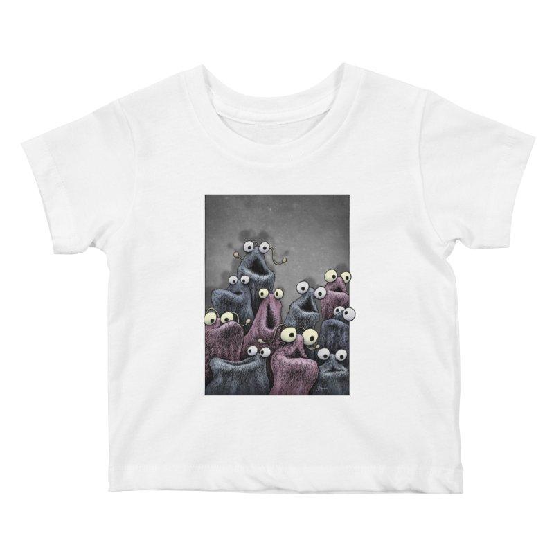 Yip-Yip Kids Baby T-Shirt by eenkist's Artist Shop