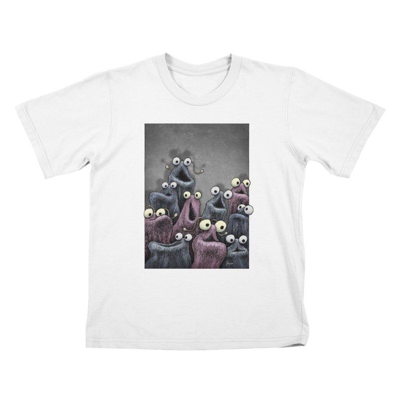 Yip-Yip Kids T-Shirt by eenkist's Artist Shop