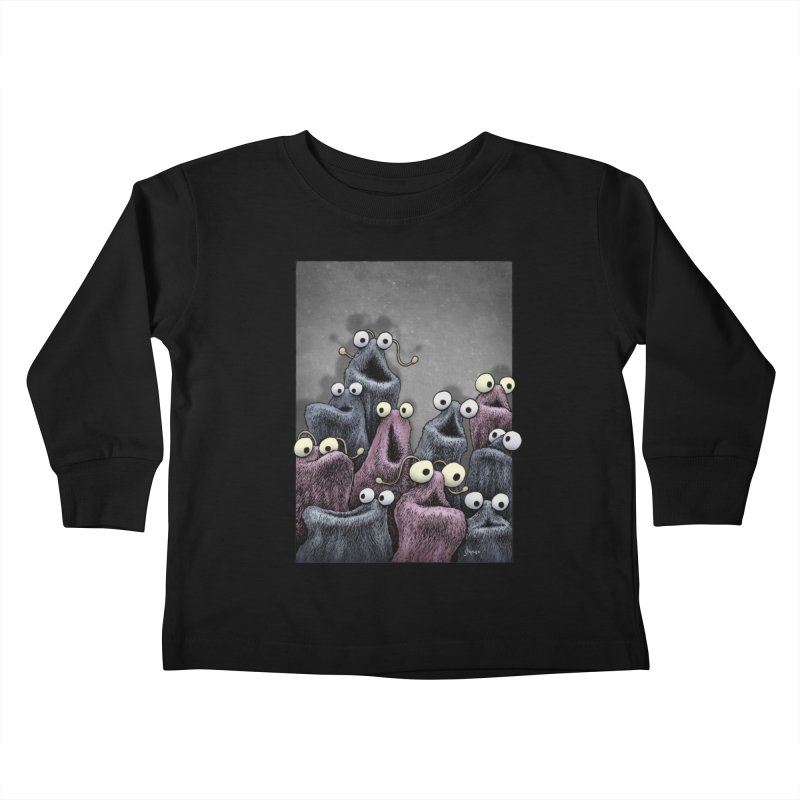 Yip-Yip Kids Toddler Longsleeve T-Shirt by eenkist's Artist Shop