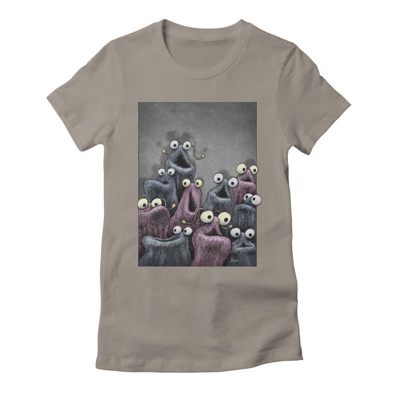 Yip-Yip Women's Fitted T-Shirt by eenkist's Artist Shop