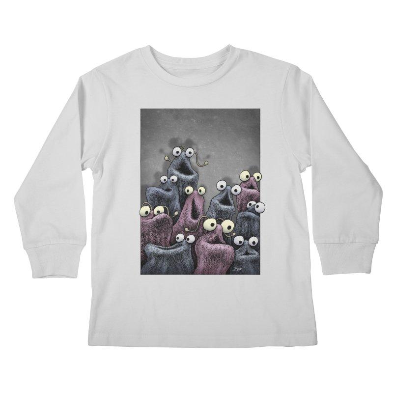 Yip-Yip Kids Longsleeve T-Shirt by eenkist's Artist Shop