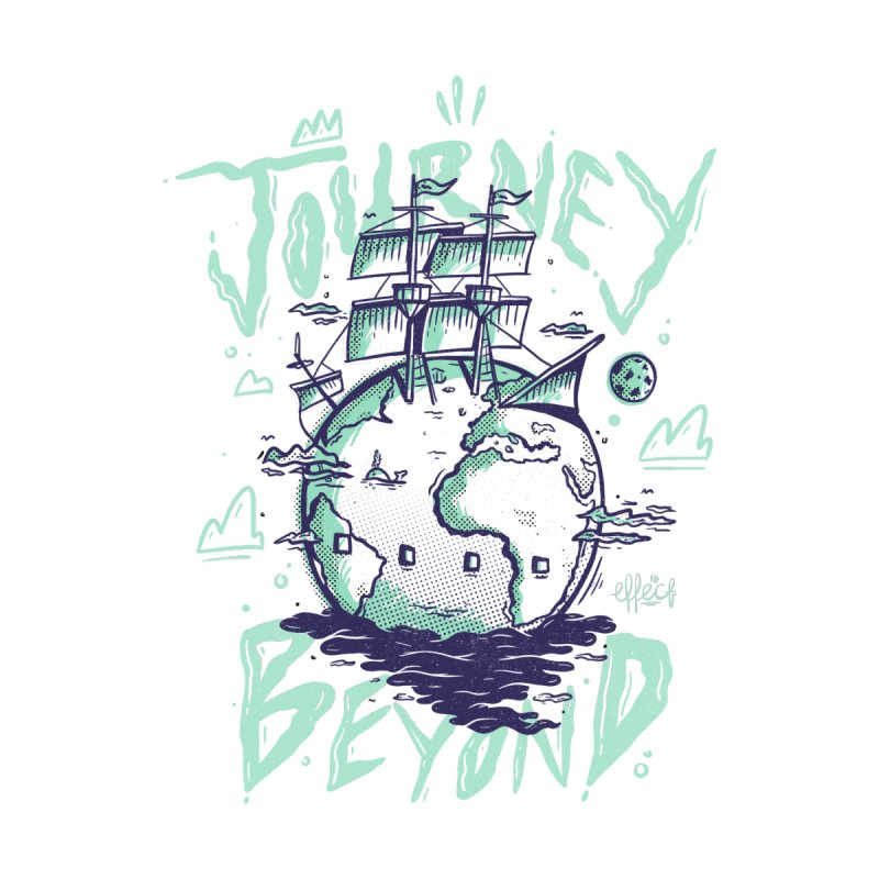 Journey Beyond Men's T-Shirt by effect14's Artist Shop