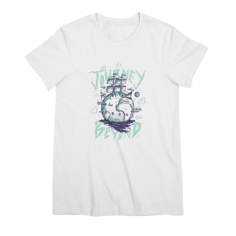Journey Beyond Women's Premium T-Shirt by effect14's Artist Shop