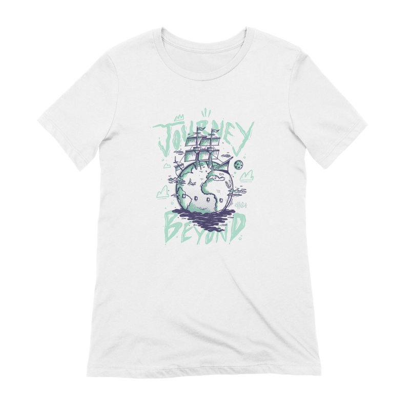 Journey Beyond Women's Extra Soft T-Shirt by effect14's Artist Shop