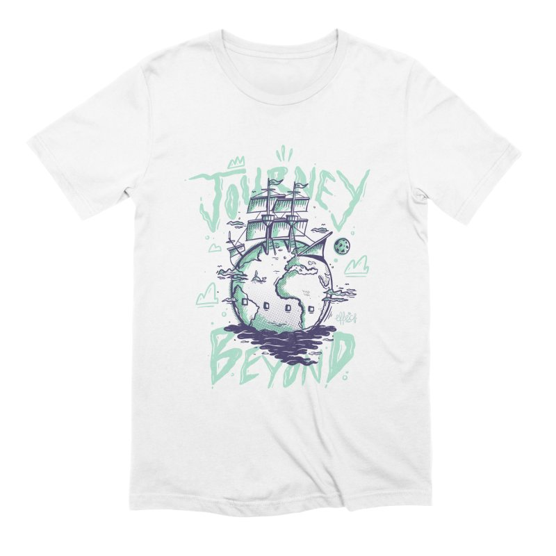 Journey Beyond Men's Extra Soft T-Shirt by effect14's Artist Shop