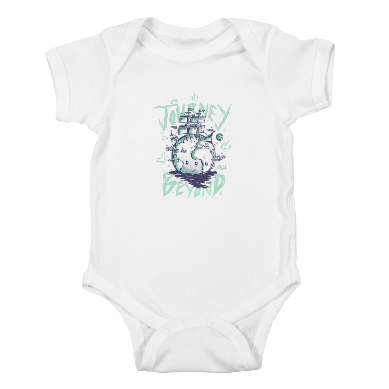 Journey Beyond Kids Baby Bodysuit by effect14's Artist Shop