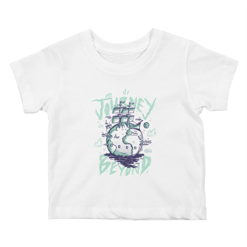 Journey Beyond Kids Baby T-Shirt by effect14's Artist Shop