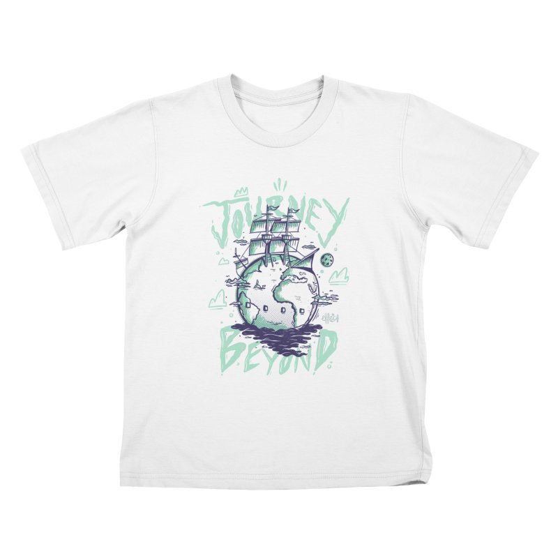 Journey Beyond Kids T-Shirt by effect14's Artist Shop