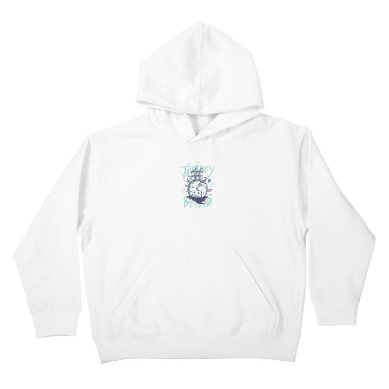 Journey Beyond Kids Pullover Hoody by effect14's Artist Shop