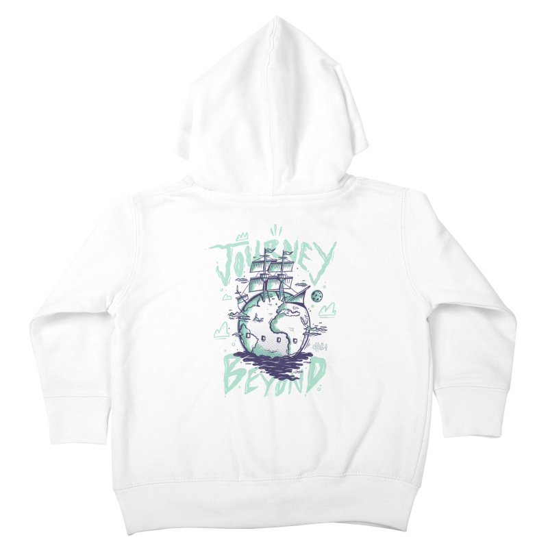 Journey Beyond Kids Toddler Zip-Up Hoody by effect14's Artist Shop