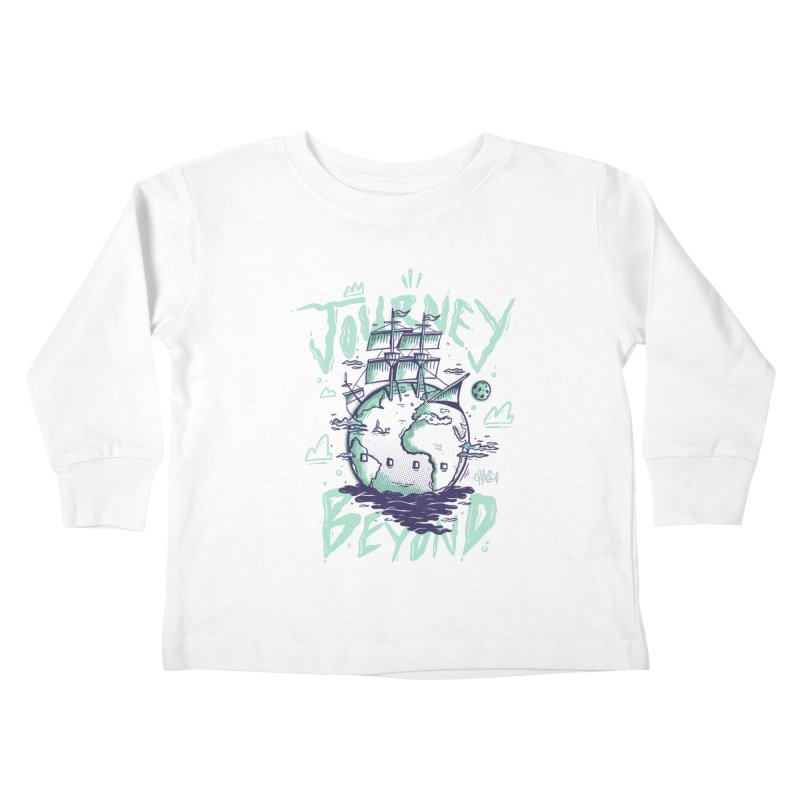 Journey Beyond Kids Toddler Longsleeve T-Shirt by effect14's Artist Shop