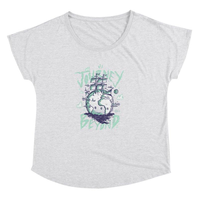 Journey Beyond Women's Dolman Scoop Neck by effect14's Artist Shop