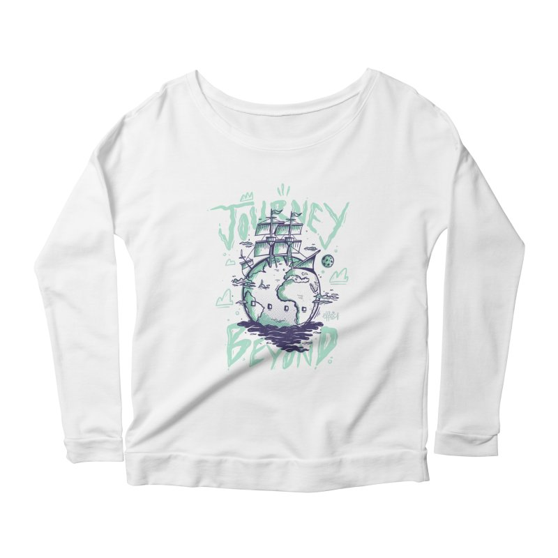 Journey Beyond Women's Scoop Neck Longsleeve T-Shirt by effect14's Artist Shop