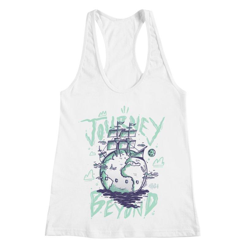 Journey Beyond Women's Racerback Tank by effect14's Artist Shop