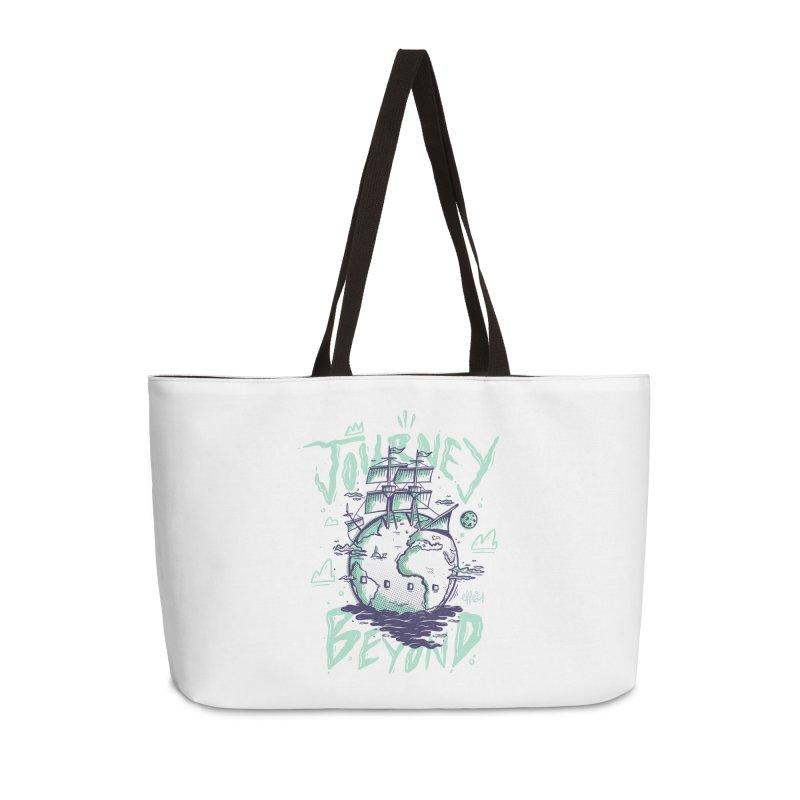 Journey Beyond Accessories Weekender Bag Bag by effect14's Artist Shop