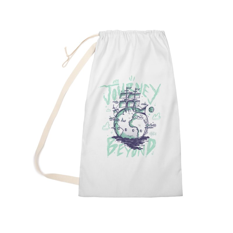 Journey Beyond Accessories Laundry Bag Bag by effect14's Artist Shop
