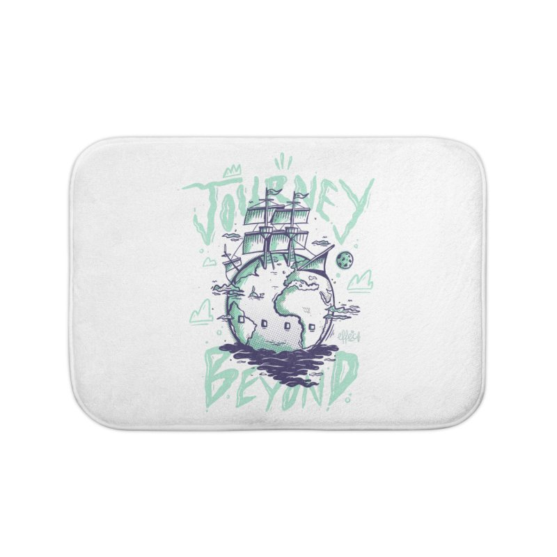 Journey Beyond Home Bath Mat by effect14's Artist Shop