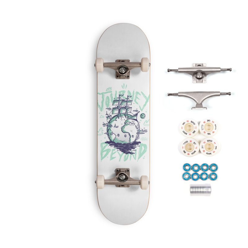 Journey Beyond Accessories Complete - Premium Skateboard by effect14's Artist Shop