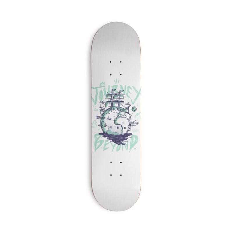Journey Beyond Accessories Skateboard by effect14's Artist Shop
