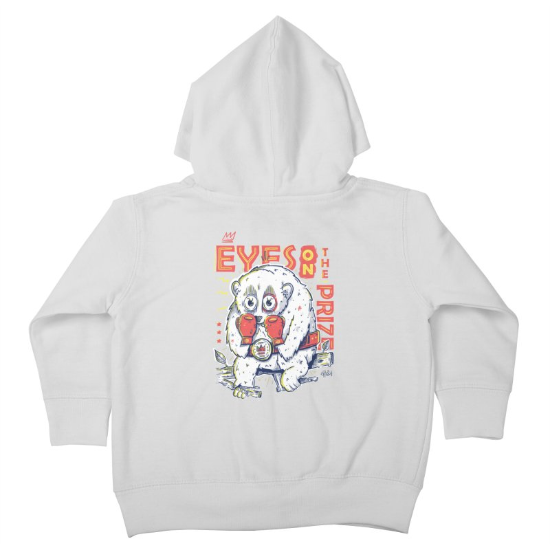 Eyes On The Prize Kids Toddler Zip-Up Hoody by effect14's Artist Shop