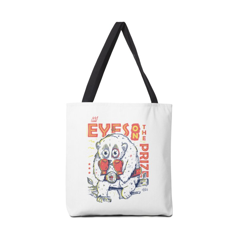 Eyes On The Prize Accessories Tote Bag Bag by effect14's Artist Shop