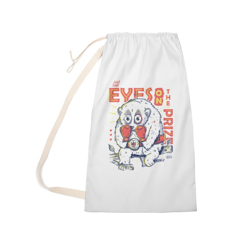 Eyes On The Prize Accessories Laundry Bag Bag by effect14's Artist Shop