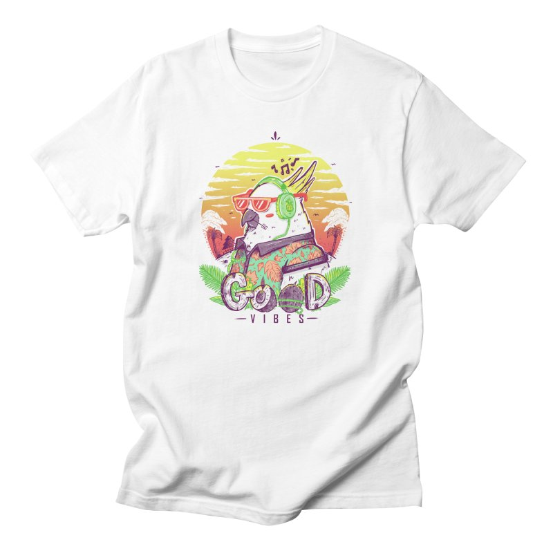 Polly Wants Some Good Vibes! Men's T-Shirt by effect14's Artist Shop