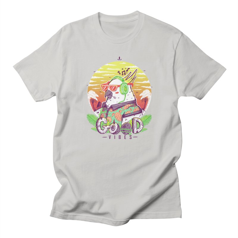 Polly Wants Some Good Vibes! Women's Regular Unisex T-Shirt by effect14's Artist Shop