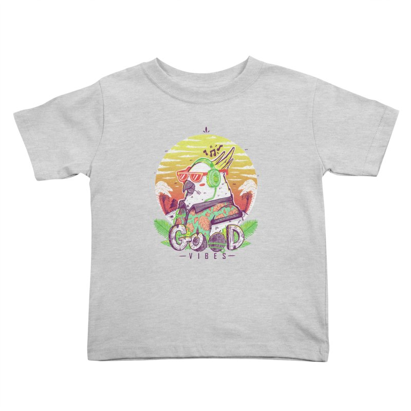 Polly Wants Some Good Vibes! Kids Toddler T-Shirt by effect14's Artist Shop