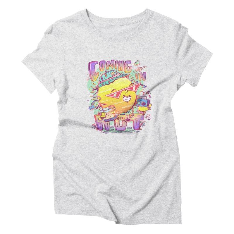 Summer Coming In hot! Women's T-Shirt by effect14's Artist Shop
