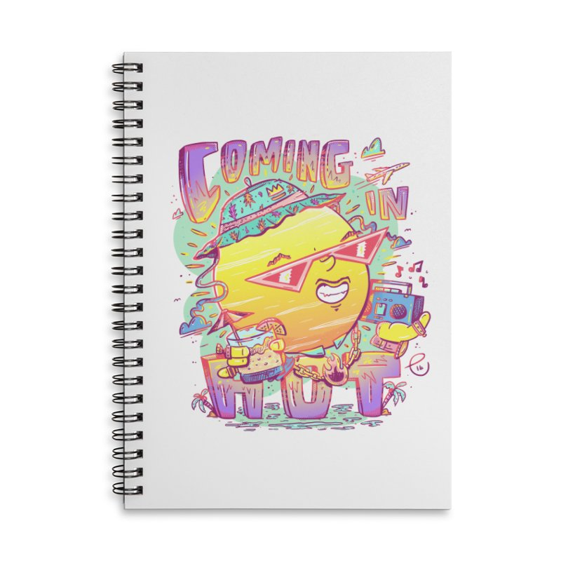 Summer Coming In hot! Accessories Notebook by effect14's Artist Shop