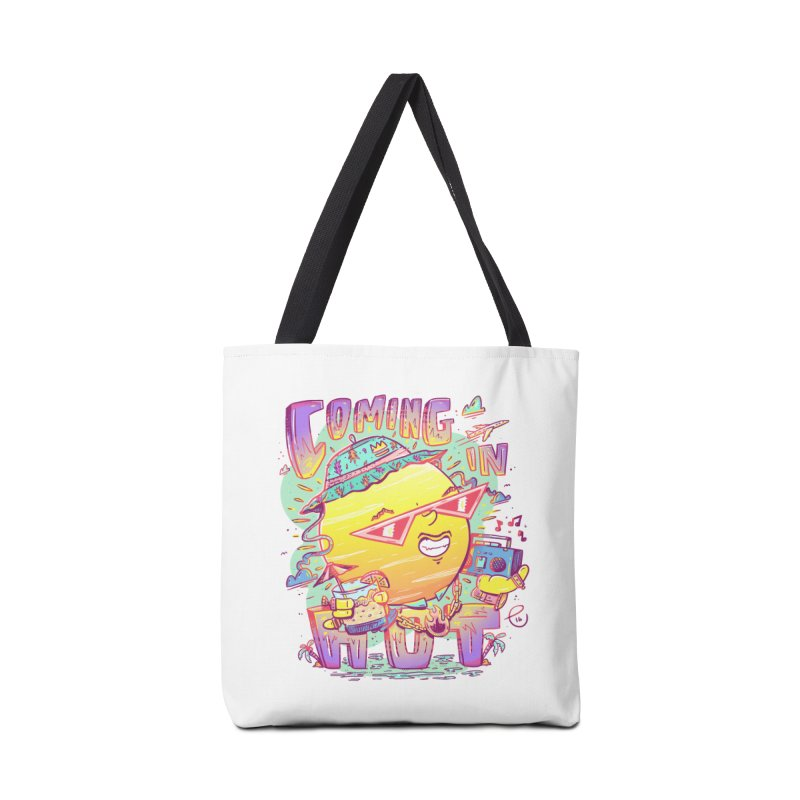 Summer Coming In hot! Accessories Bag by effect14's Artist Shop