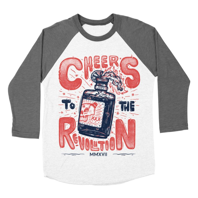 Cheers To The Revolution! Women's Baseball Triblend T-Shirt by effect14's Artist Shop