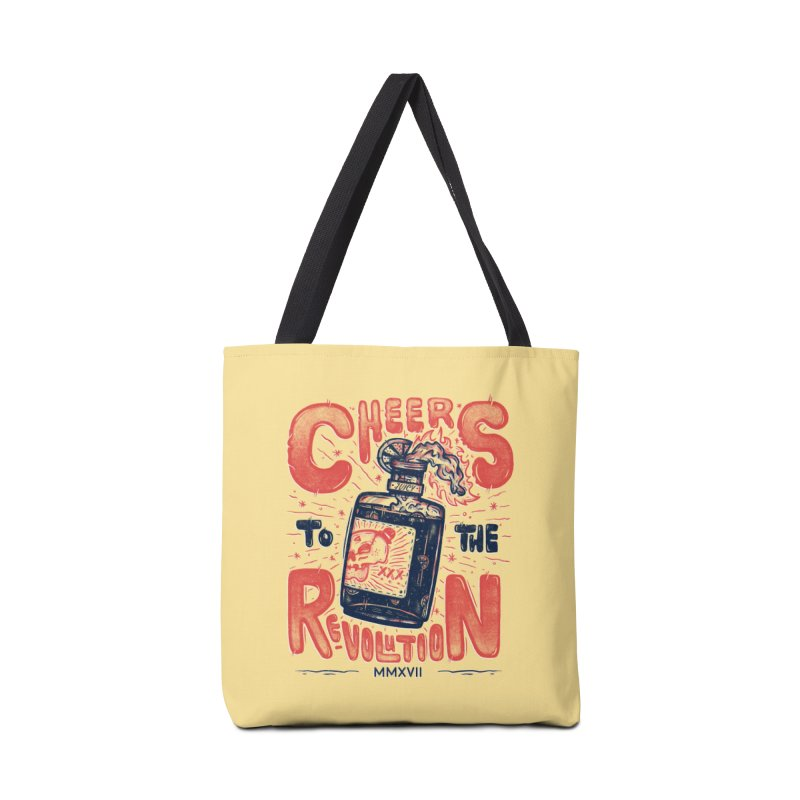 Cheers To The Revolution! Accessories Bag by effect14's Artist Shop