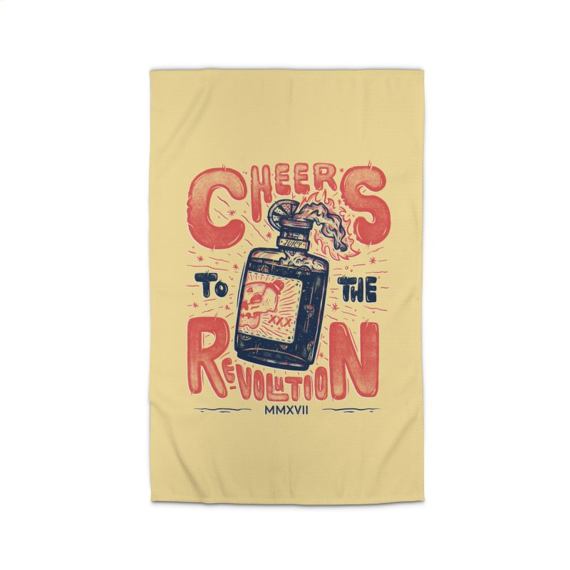 Cheers To The Revolution! Home Rug by effect14's Artist Shop