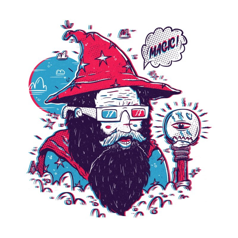 Oooh Magic! Men's T-Shirt by effect14's Artist Shop