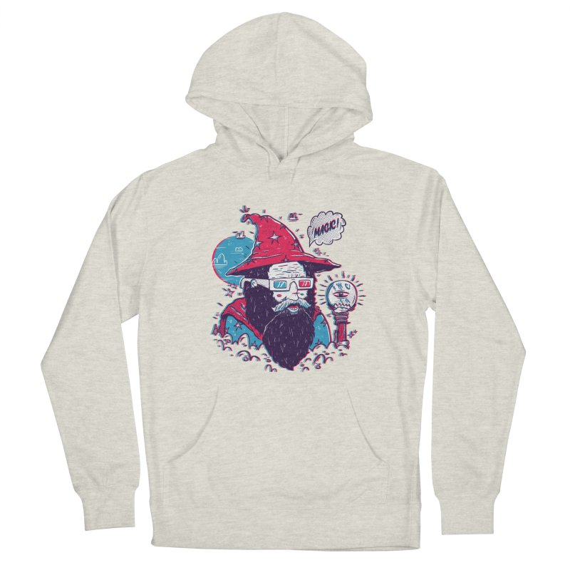 Oooh Magic! in Men's French Terry Pullover Hoody Heather Oatmeal by effect14's Artist Shop