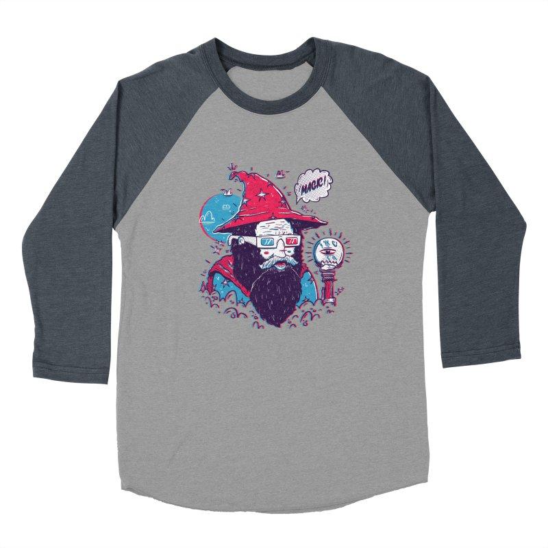 Oooh Magic! Women's Baseball Triblend Longsleeve T-Shirt by effect14's Artist Shop