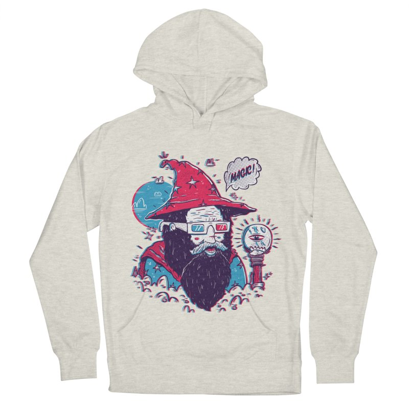 Oooh Magic! in Men's Pullover Hoody Heather Oatmeal by effect14's Artist Shop