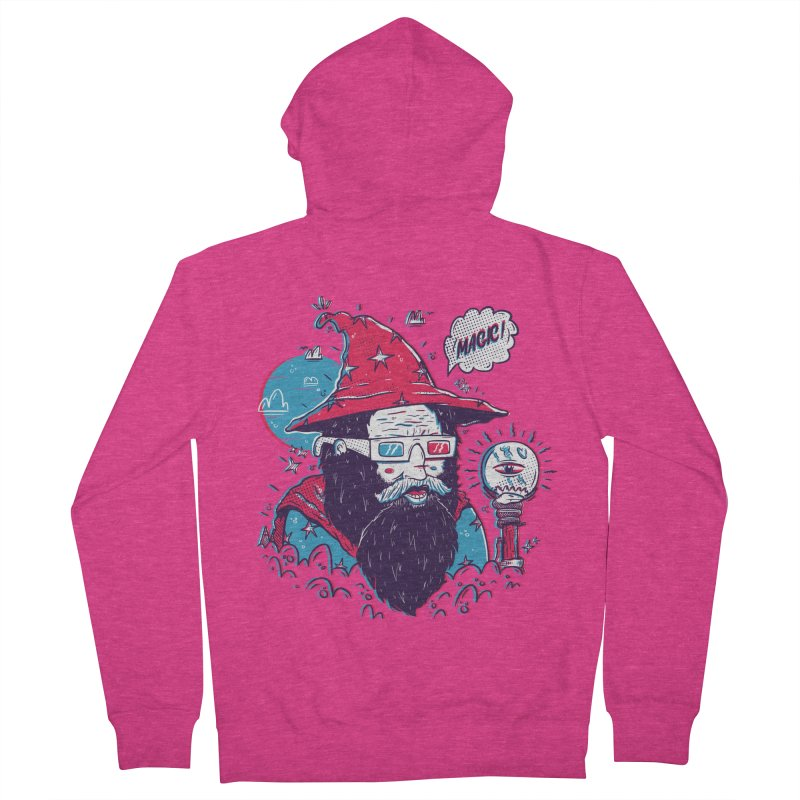 Oooh Magic! Women's French Terry Zip-Up Hoody by effect14's Artist Shop