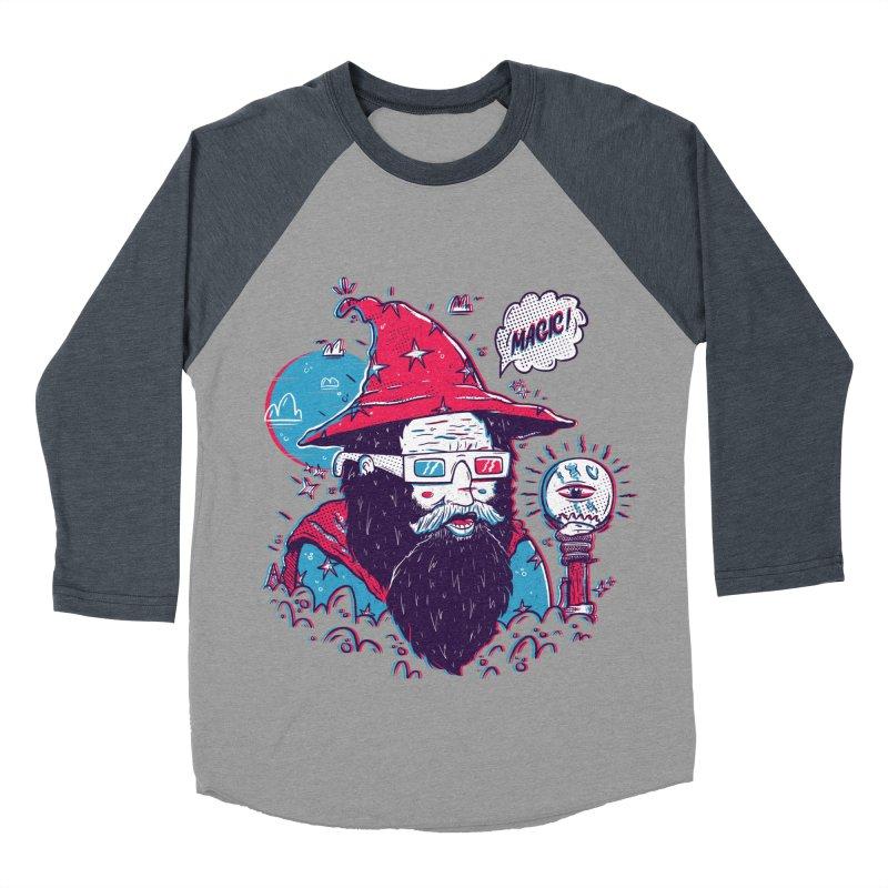 Oooh Magic! Men's Baseball Triblend Longsleeve T-Shirt by effect14's Artist Shop
