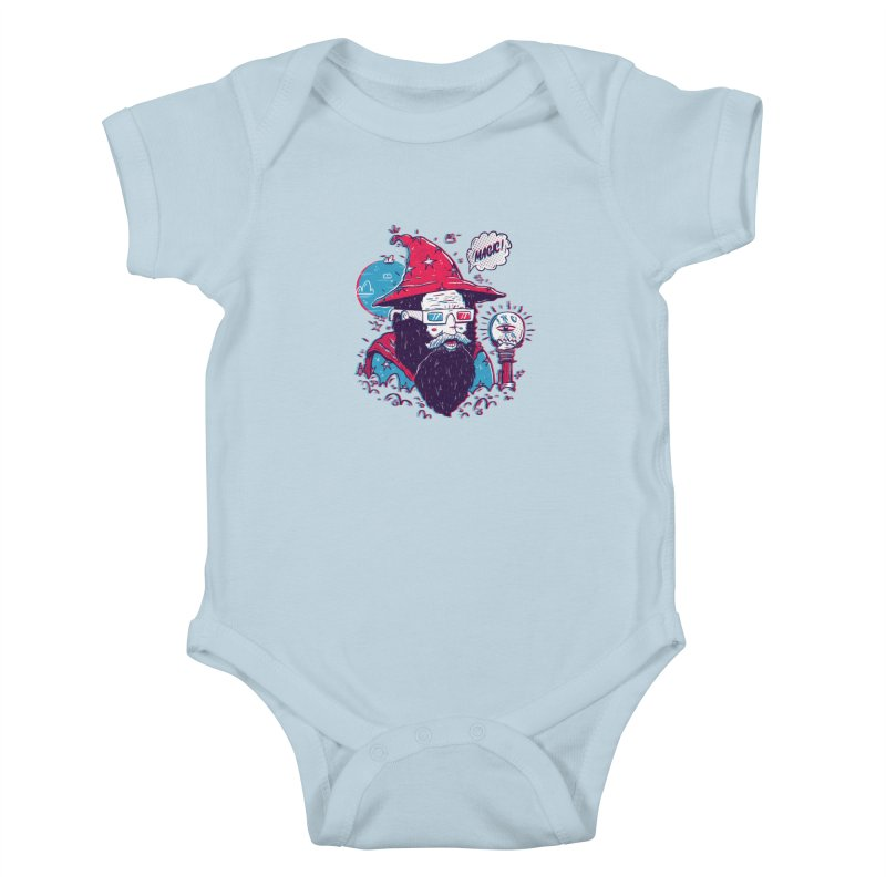 Oooh Magic! Kids Baby Bodysuit by effect14's Artist Shop
