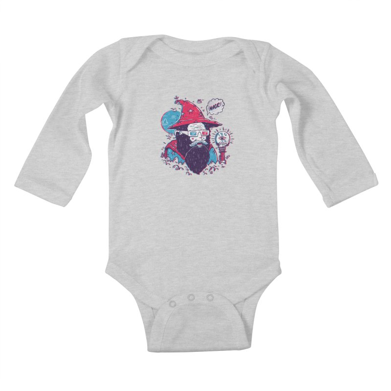 Oooh Magic! Kids Baby Longsleeve Bodysuit by effect14's Artist Shop