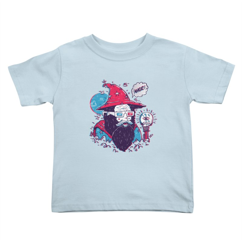Oooh Magic! Kids Toddler T-Shirt by effect14's Artist Shop