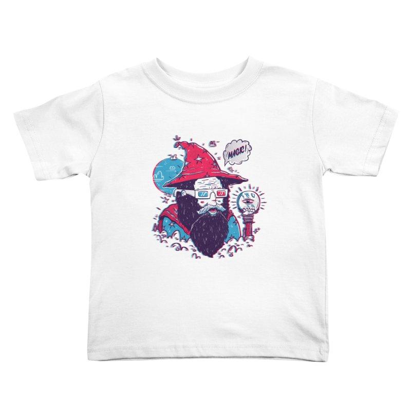 Oooh Magic! Kids Toddler T-Shirt by effect14's Artist Shop
